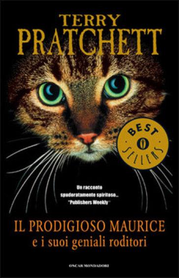 """Copertina del Libro """"Il prodigioso Maurice e i suoi geniali roditori"""""""