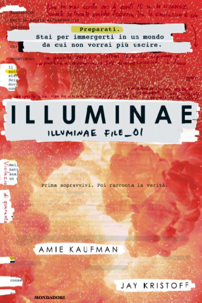 Copertina libro Illuminae vol.1