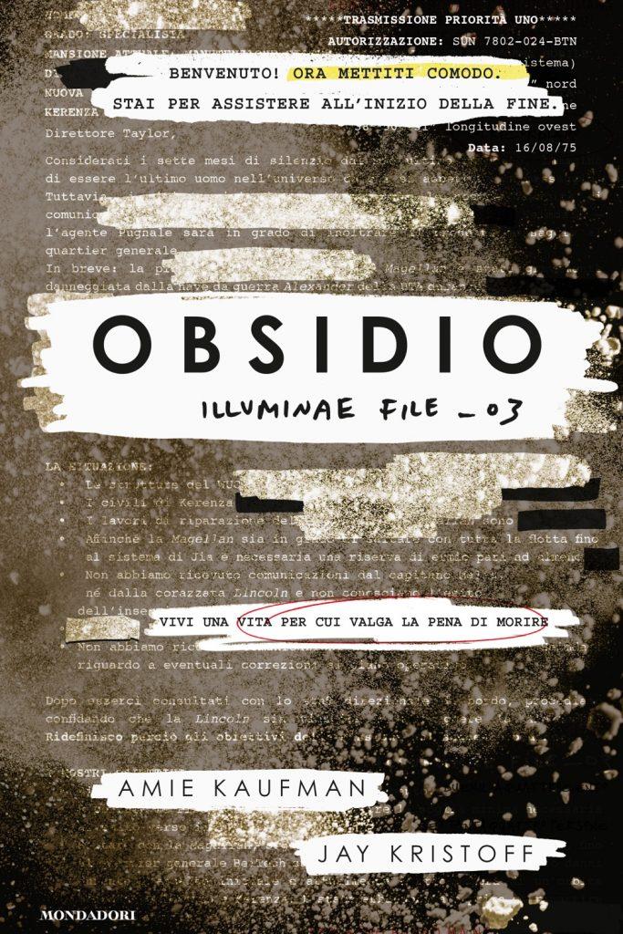 Copertina libro Obsidio