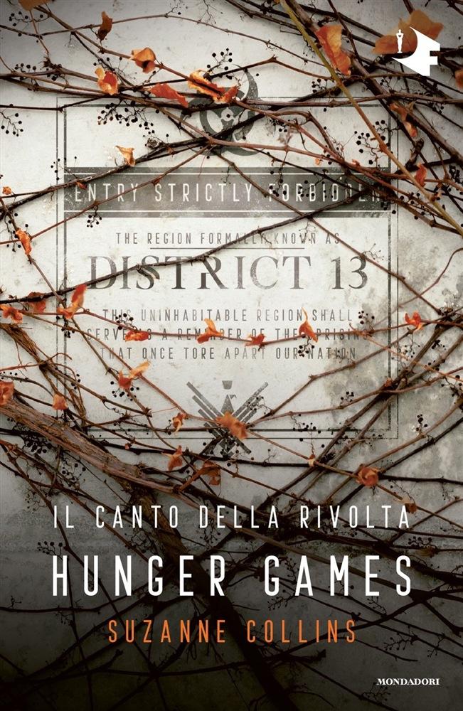copertina del libro hunger games - il canto della rivolta