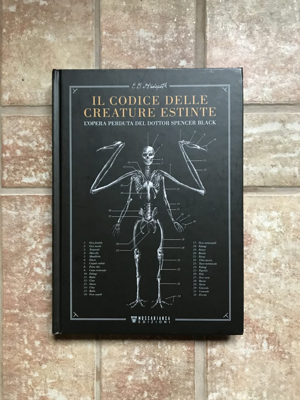 copertina del libro Codice delle creature estinte