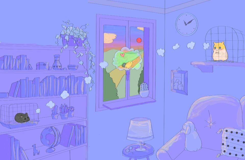 Immagine rappresentativa di Brufolo e Brufola che guardano fuori dalla finestra